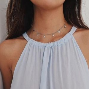 Jewelry - Dainty Silver Star Necklace
